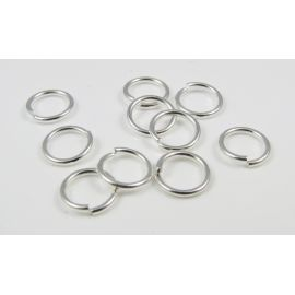 Open jump rings 8 mm, 10 pcs.