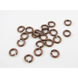 Open ring 4 mm, 20 pcs.