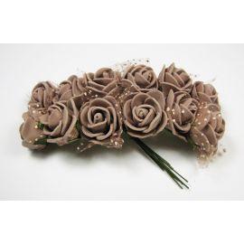 Dekoratiivsed lilled tiuliu, 20 mm, 12 tk.