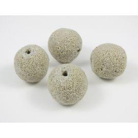 Lava beads 17-18 mm, 1 pcs.