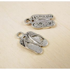 "Pendant ""Slippers"" 15 mm, 1 pcs."
