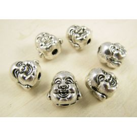 "Spacer ""Buddha's head"" 10 mm, 1 pcs."