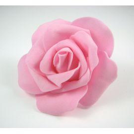 Dekoratīvs zieds - roze 6-7mm, rozā 1 gab.