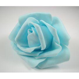 Dekoratīvs zieds - roze 6-7mm, debeszils 1 gab.