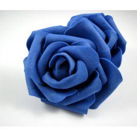 Dekoratīvs zieds - roze 6-7mm, zils 1 gab.