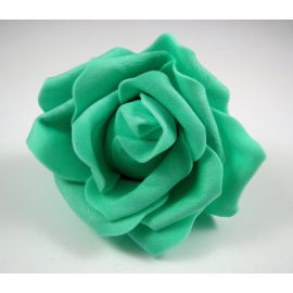 Decorative flower - rose 60-70 mm, 1 pcs.