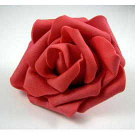 Dekoratīvs zieds - roze 6-7mm, sarkans 1 gab.