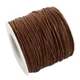 Vaškuota medvilninė virvelė 1.00 mm 1 m