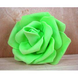 Decorative flower - rose 60-70 mm, 1 pcs.