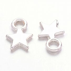 "Pendant ""Asterisk"" 10x8 mm, 10 pcs."