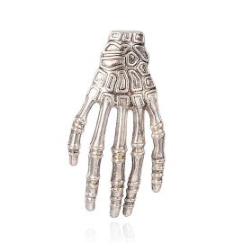 "Pendant ""Skeletal hand"" 39x18 mm, 1 pcs."