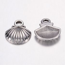 "Pendant ""Shell"" 14x12 mm, 1 pcs."
