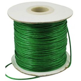 Waxed polyester cord 1.00 mm 1 m