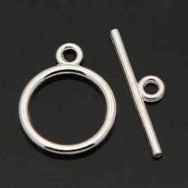 Vėrinio užsegimas su lazdele 15 mm, 1 rink.