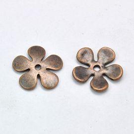 Beads caps 21 mm, 6 pcs.