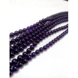 Jade beads strand 8 mm