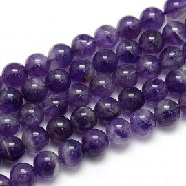 Natural Amethist bead thread 10 mm
