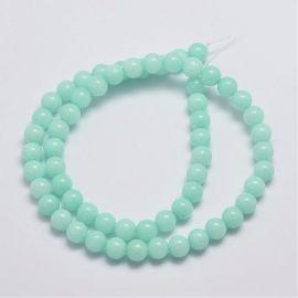 Jade beads strand 6-7 mm
