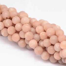 Natural Moon Stone Bead Thread 4 mm
