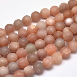 Natural Moon Stone Bead Thread 8 mm