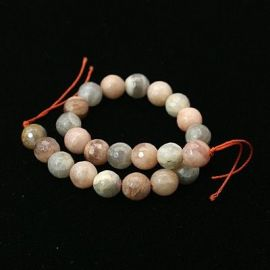 Natural Moon Stone Bead strand 12 mm