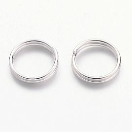 Double rings 8 mm, 20 pcs.