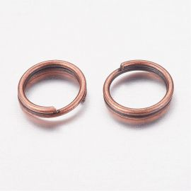 Double nickel-free jump rings 6 mm, 20 pcs.