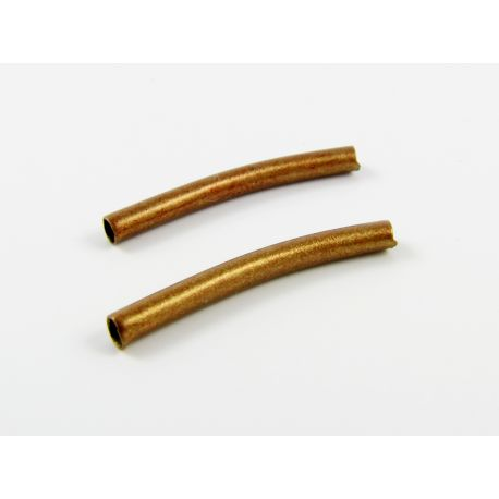 Insert for the manufacture of jewelry copper tube shape 20x2 mm