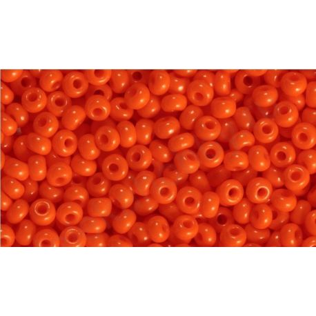Preciosa biseris (93140-10) oranžinės spalvos 50 g