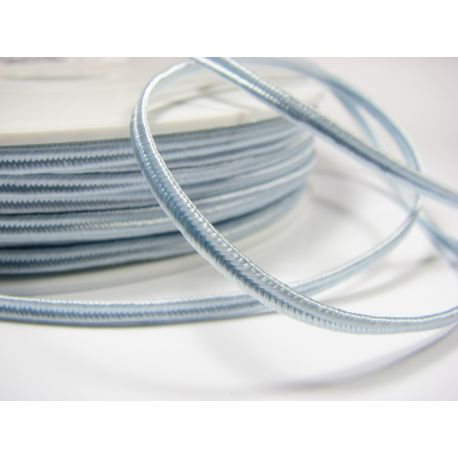 Sutajo strip Pega A1701 light blue (pastel) color 3 mm wide 100% viscose Country of Origin Czech Republic