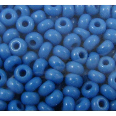 Preciosa Seed Beads (63080-8) bluish, 50 g