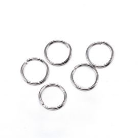 Stainless steel rings 5 mm, 20 pcs.