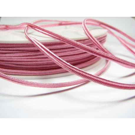 Sutajo strip Pega A1405 pink 3 mm wide 100% viscose country of origin Czech Republic