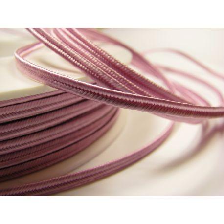 Sutajo strip Pega A1601 light pink 3 mm wide 100% viscose country of origin Czech Republic
