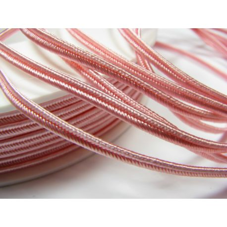 Sutajo strip Pega A4401 light pink 3 mm wide 100% viscose country of origin Czech Republic