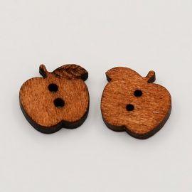 "Wooden saga ""Apple"" 17 mm, 1 pcs."