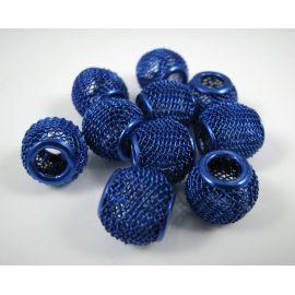 Metal Mesh beads 12x10 mm, 1 pcs.
