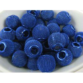 Metal Mesh beads 14x12 mm, 1 pcs.