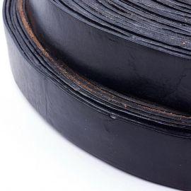Genuine leather belt 35 mm 1 m.