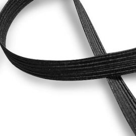 Elastic band - rubber 9 mm, 1 m.
