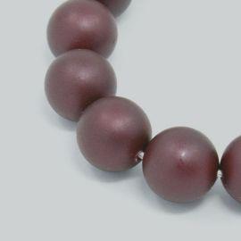 SHELL pērļu krelles 8 mm, 10 gab.