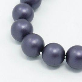 SHELL pärl helmed 8 mm, 10 tk.