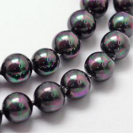 SHELL pärl helmed 6 mm, 10 tk.