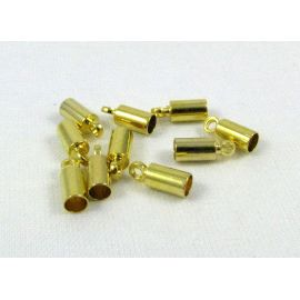 Brass completion detail 9x3.5 mm, 10 pcs.