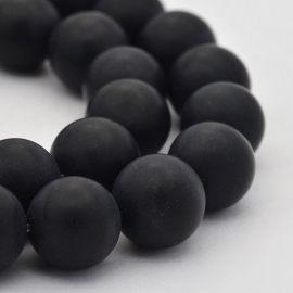Agate bead thread 12 mm