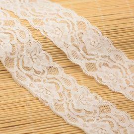 Резиновый декоративный резиновый, белый, 52 мм, 1 метр