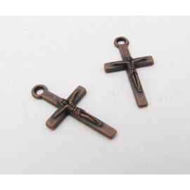 """Кулон """"Крест"""" 24х13 мм, 1 шт."""