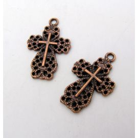 "Pendant ""Cross"" 22x14 mm, 1 pcs."