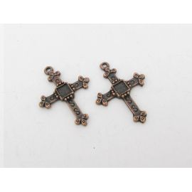 "Pendant ""Cross"" 27x20 mm, 1 pcs."