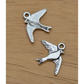 "Pendant ""Bird"" 22x18 mm., 1 pcs."
